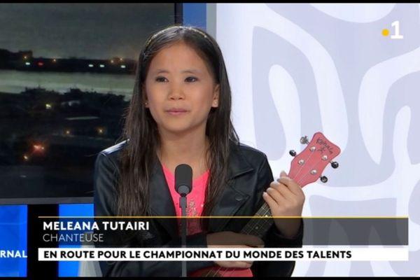 Meleana Tuairi défend les couleurs polynésiennes au World championship of performing arts