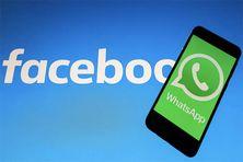 L'application WhatsApp a été rachetée par Facebook en 2014, pour 19 milliards de dollars. (MAHMUT SERDAR ALAKUS / ANADOLU AGENCY / AFP)tsapp