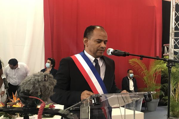 Seraphin discours maire