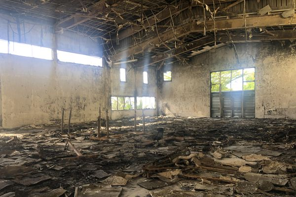Incendie gymnase Saint André