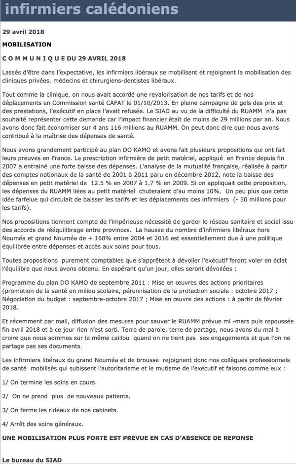 SIAD : communiqué de soutien à la grève des cliniques