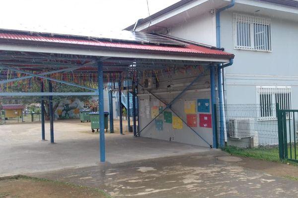 école modulaire du Carbet