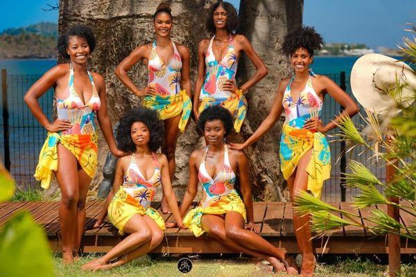 Les 6 candidates à Miss Mayotte 2021