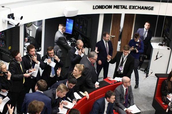 Bourse des métaux de Londres.