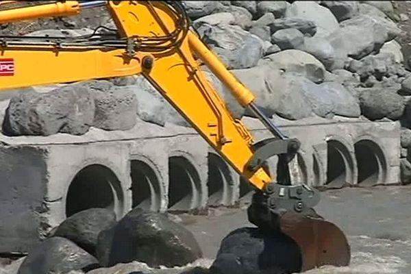 Début des travaux rivière Saint-Etienne