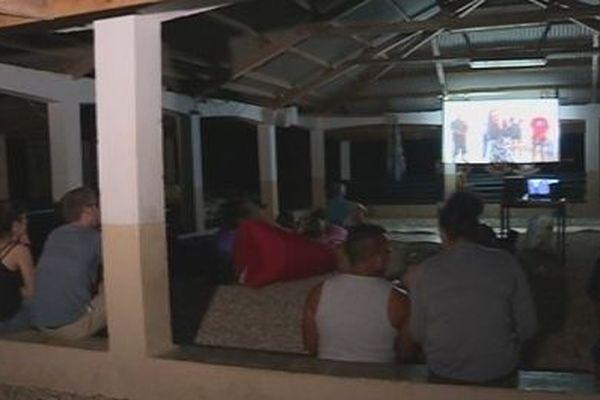 projection FIFO hors les murs à Futuna