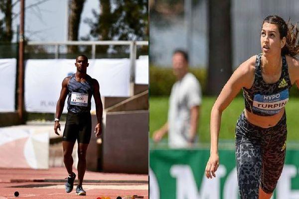 Ruben Gado et Esther Turpin sacrés champions de France