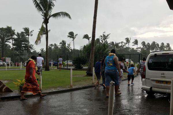aéroport hihifo depression tropicale