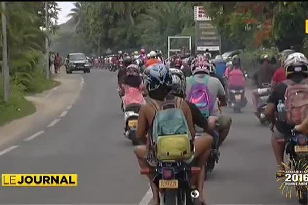 Faaàti Moorea : les deux-roues envahissent les routes