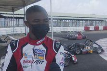 Craig Tanic, 17 ans, champion de karting.