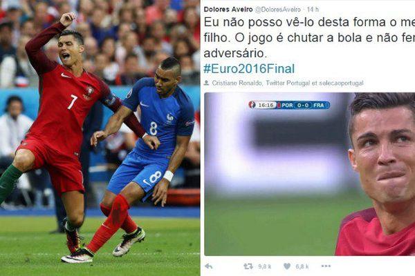 Euro 2016 : la mère de Cristiano Ronaldo en colère contre Dimitri Payet