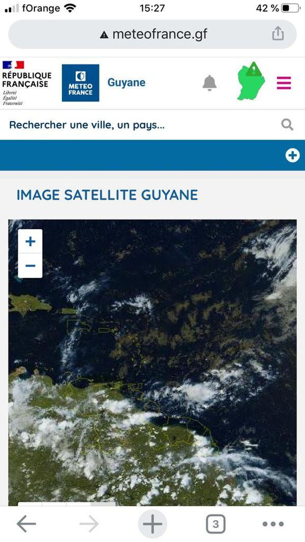 Image satellite Guyane