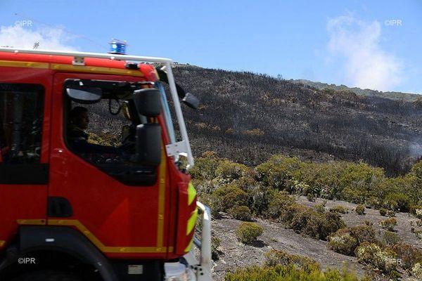 incendie au Ma¨do camion pompier novembre 2020