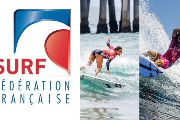 Mondiaux de surf 2019 :  Vahine Fierro et Michel Bourez sélectionnés aux ISA Surfing Games
