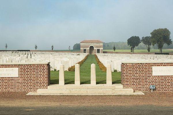 Cimetière militaire anglo-saxon de la route de Quéant, Pas-de-Calais