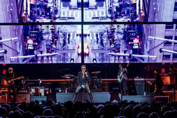 Johnny Hallyday en concert à Tahiti ! 2