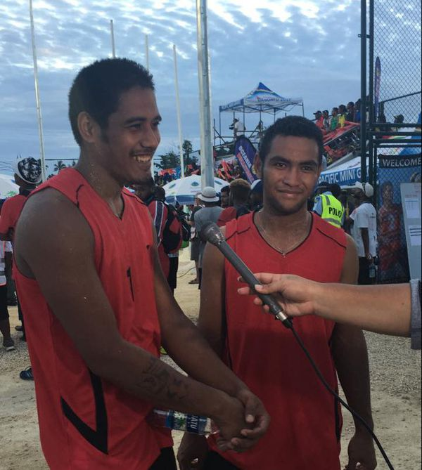 beach volley homme : WF bat Tuvalu 2 sets à 1