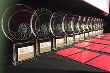Les fameux nautiles remis aux lauréats.