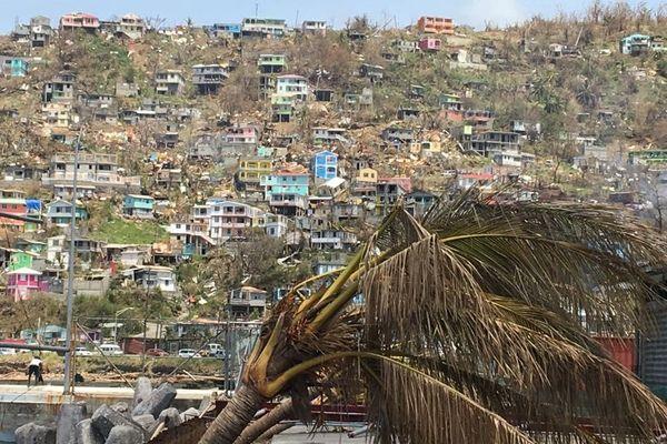 La Dominique après le cyclone Maria