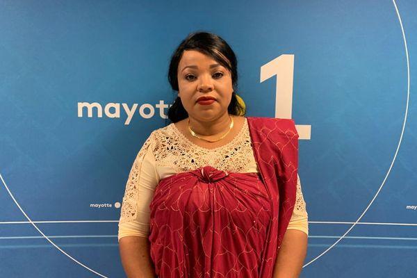 Raïcha Houmadi est candidate avec Mounirou Ahmed Ahmed pour le canton de Koungou.