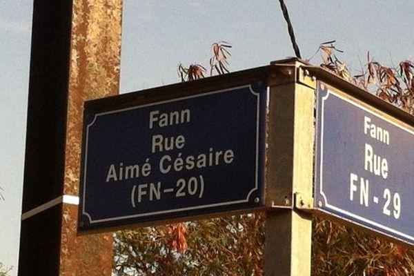 rue Aimé Césaire Dakar