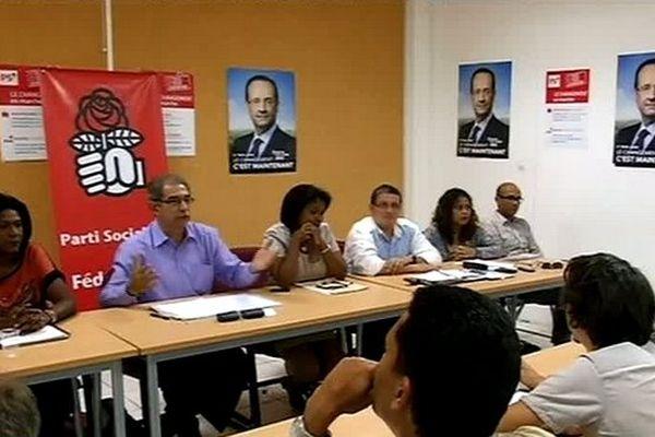 Conférence de presse du PS Réunion