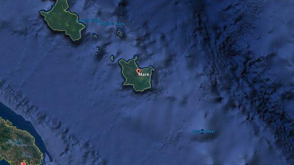 Zone échouement Kea Trader récif Durand