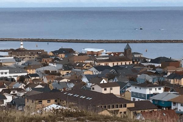 Vue de Saint-Pierre