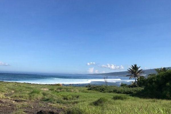 Ciel bleu et mer calme