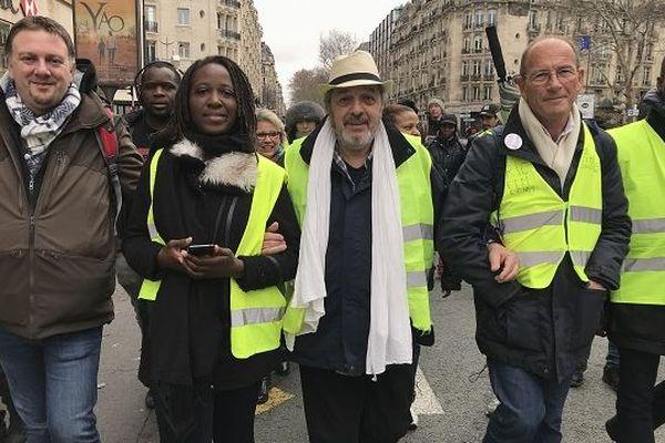 Manifestation HGilets jaunes Outre-mer