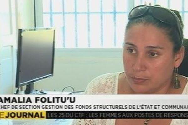 Amalia Folitu'u femme cadre