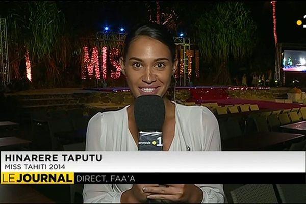 Soirée de gala en prologue à l'élection de Miss Tahiti