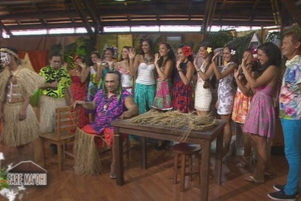 """Les 10 candidates dans l'émission """"Fare Maohi"""" sur Polynésie 1ère"""
