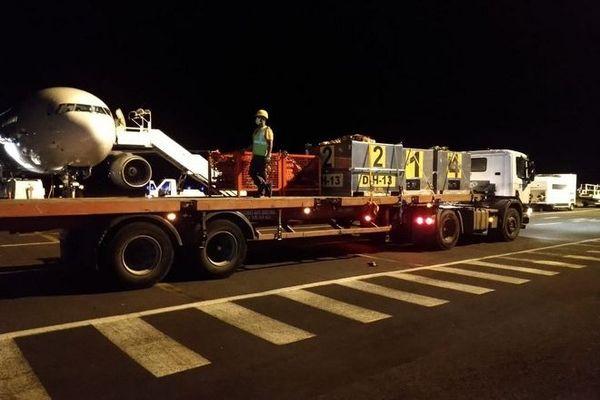 incendie Maïdo arrivée renforts pompiers nuit d mardi 10 au mercredi 11 novembre 2020