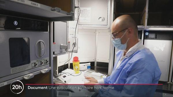 Transfert patients vers Paris