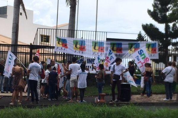 Manifestation réforme Bac