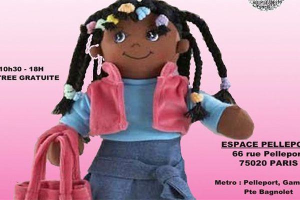 salon poupées noires