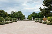 Le jardin des Tuileries, au cœur de Paris, où doit être installé le Mémorial