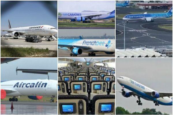 Les compagnies aériennes qui desservent les Outre-mer