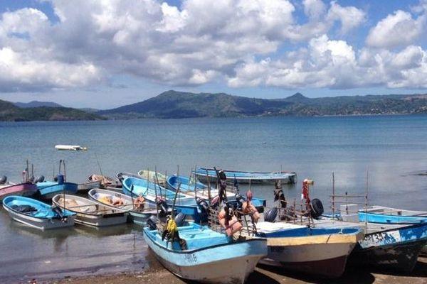 Bateau de pêche à Mayotte