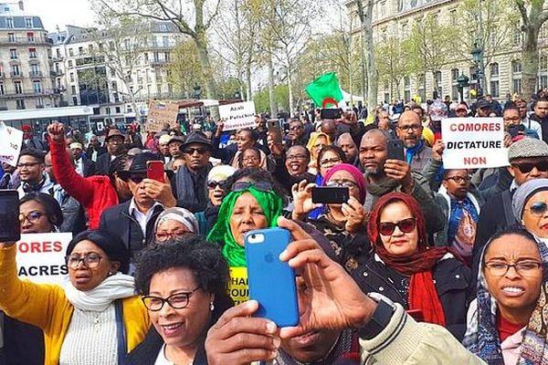 Manifestation à Paris 7 avril 2019