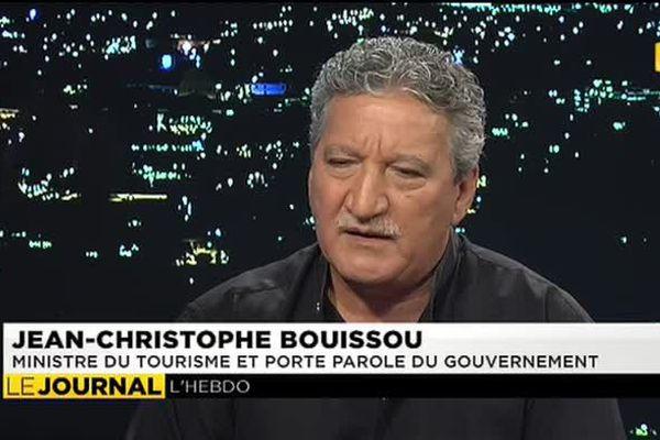 Invité du journal : Jean Christophe Bouissou, ministre du tourisme et porte parole du gouvernement