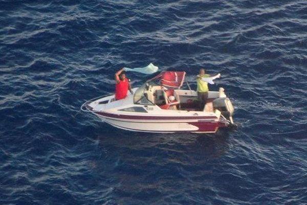 Deux pêcheurs secourus