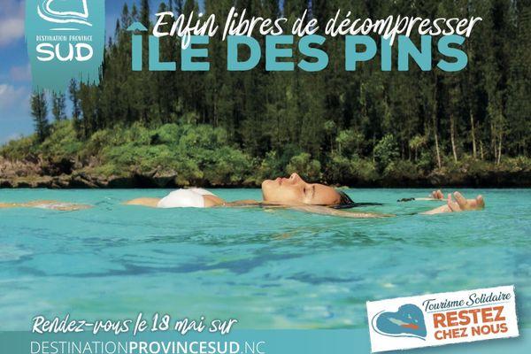 Campagne pour le tourisme local, coronavirus, province Sud