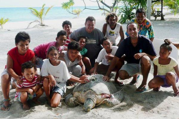 L'association Te mana o te moana a bénéficié du fonds Pacifique en 2013