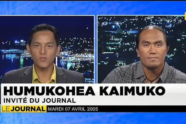 Festival des Marquises : Humukohea Kaimuko, invité du journal