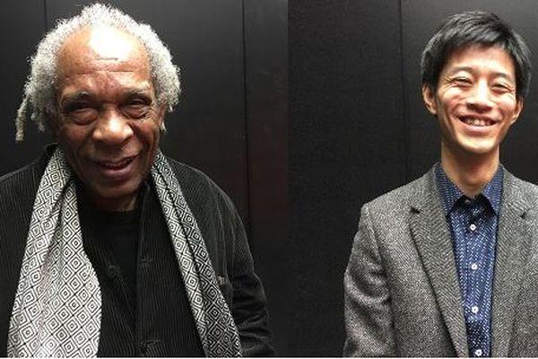 Jacques Coursil et Satoshi Hirota