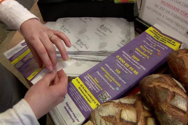 A La Réunion, 5 000 sacs à pain distribués en boulangerie pour sensibiliser aux violences conjugales