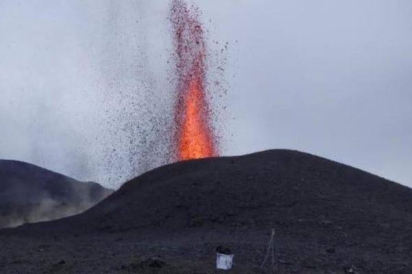 9ème jour d'éruption Volcan Fournaise Avril 2021