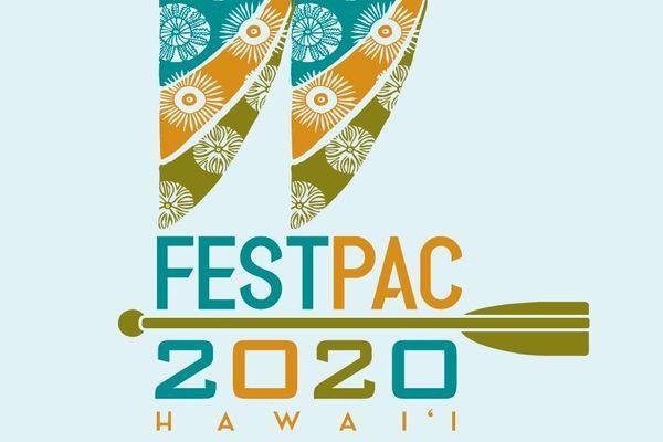 Le logo du FestPac 2020, festival des arts du Pacifique
